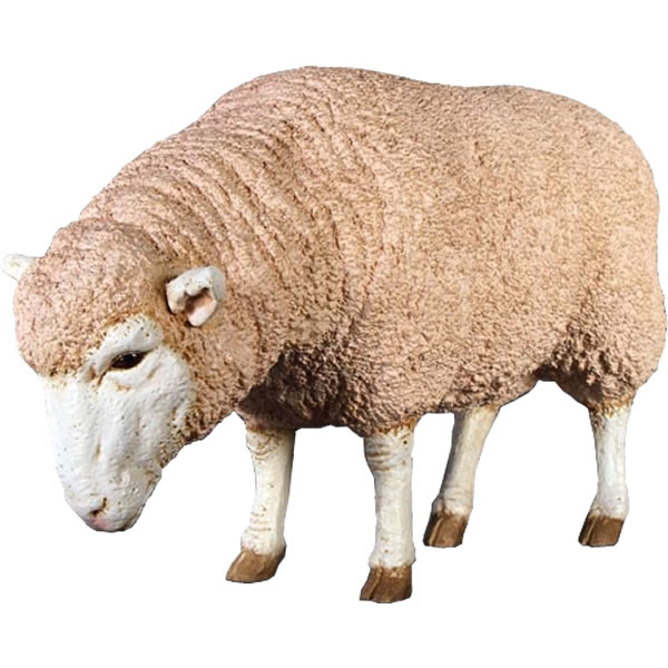 アニマルビッグフィギュアシリーズ【メリノ種の雌ヒツジ(羊)B】(等身大フィギュア)