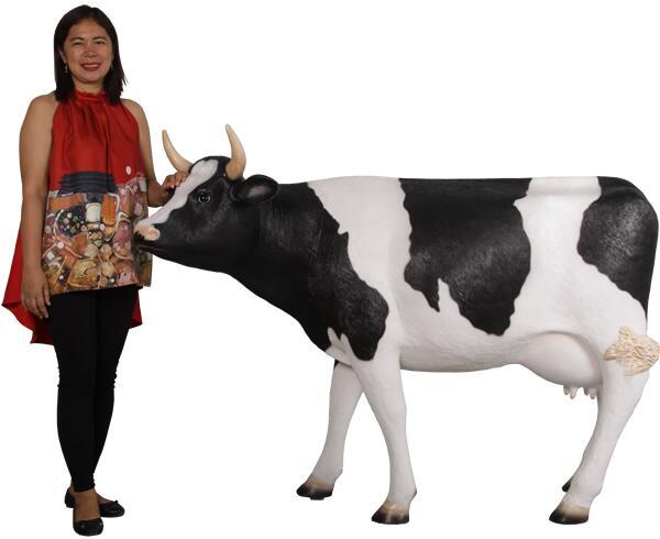 アニマルビッグフィギュアシリーズ【ウシ(乳牛)中型の乳牛A】(等身大フィギュア)