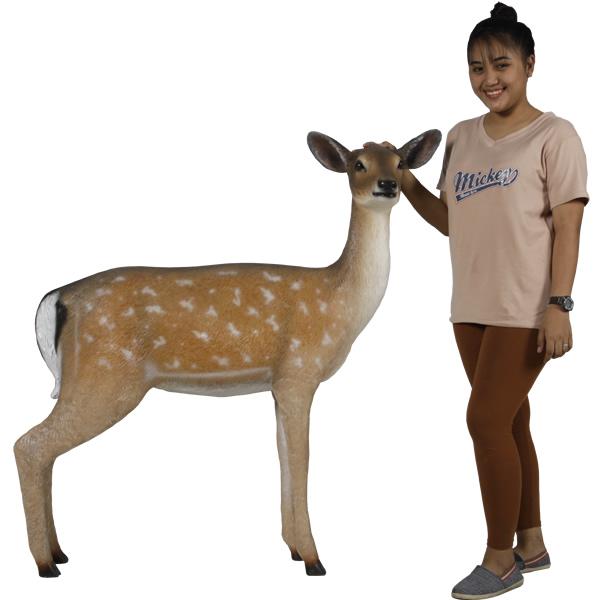 アニマルビッグフィギュアシリーズ【白い尻尾の鹿(ディアー)】(等身大フィギュア)