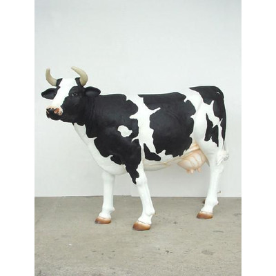 アニマルビッグフィギュアシリーズ【ウシ(乳牛)・スタンディングB牛】(等身大フィギュア)