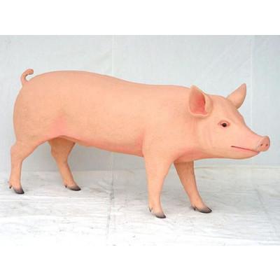 アニマルビッグフィギュアシリーズ【【豚(ブタ)A】(等身大フィギュア)