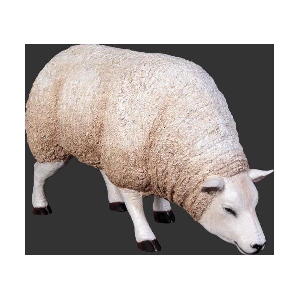 アニマルビッグフィギュアシリーズ【餌を食べる ヒツジ(羊】(等身大フィギュア)