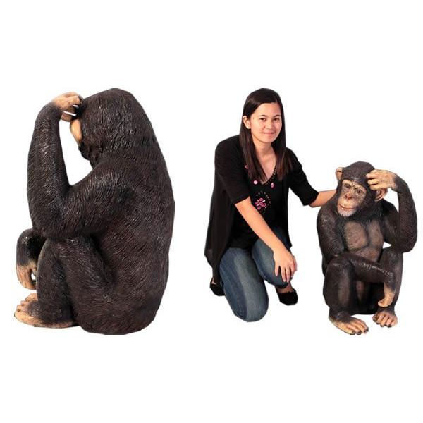 アニマルビッグフィギュアシリーズ【チンパンジー】(等身大フィギュア)