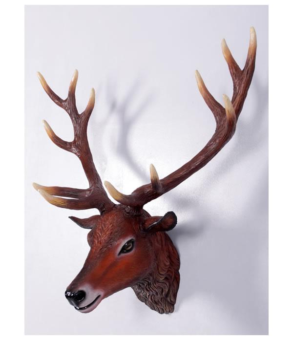 鹿 ヘッド(壁掛けタイプ)等身大フィギュア