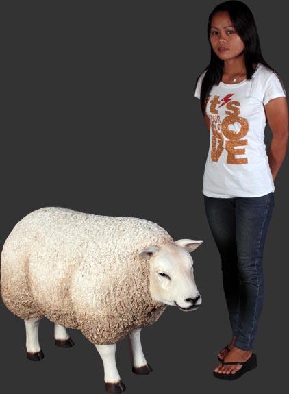 アニマルビッグフィギュアシリーズ【ヒツジ(羊)UP 】(等身大フィギュア)