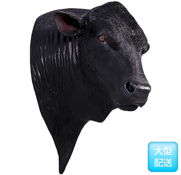 アンガス牛 ヘッド・ビッグフィギュア(壁掛けタイプ)