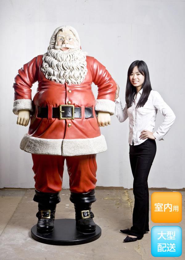 陽気な サンタクロース(等身大フィギュア)