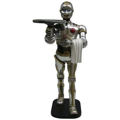 フィギュア付 メニュートレイ・ロボット ウエイター
