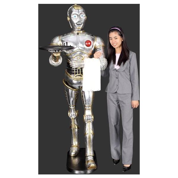 ロボット ウエイーター(ウオーキング) 等身大フィギュア