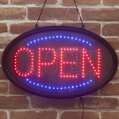 壁掛け・LED電飾オーパルフレーム「OPEN・CLOSED」(開店・閉店)