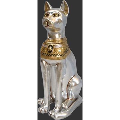 古代エジプト・神聖なネコ(猫) ビッグフィギュア(等身大フィギュア)