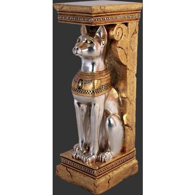 古代エジプト・神聖なネコ(猫)コラム【2体セット】 ビッグフィギュア(等身大フィギュア)