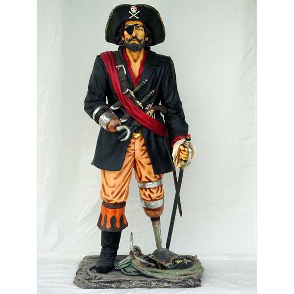 キャプテンパイレーツ(海賊船長)・等身大フィギュア