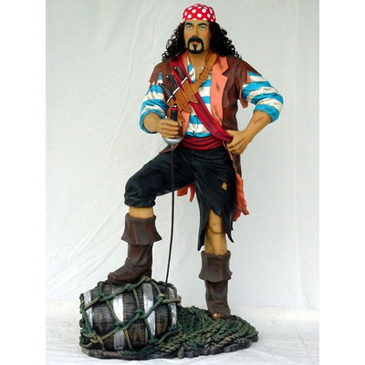 パイレーツ(海賊)・等身大フィギュア