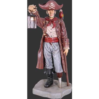 キャプテンパイレーツとランタン(海賊船長)・等身大フィギュア