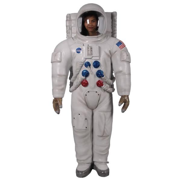宇宙飛行士 NASA 顔出し(アストロマン)C等身大フィギュア