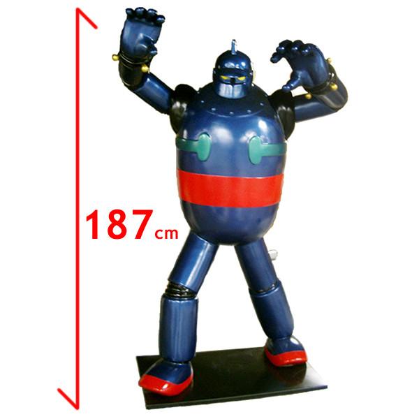 なつかしのテレビアニメ 鉄人28号・ビッグB 等身大フィギュア