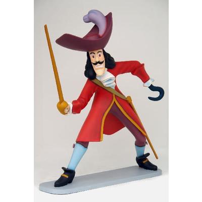ピーターパン 海賊 フック船長・ビッグ 等身大フィギュア