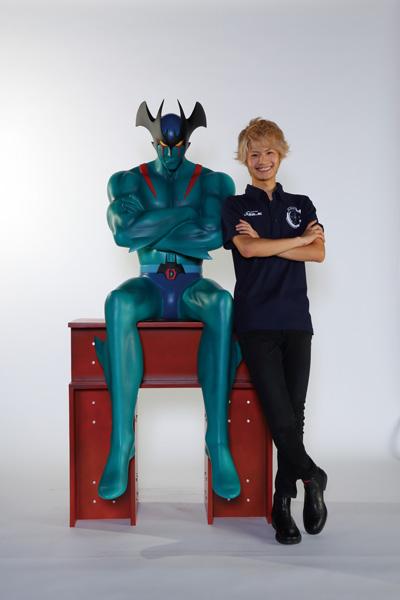 なつかしのテレビアニメ 新デビルマン 等身大フィギュア