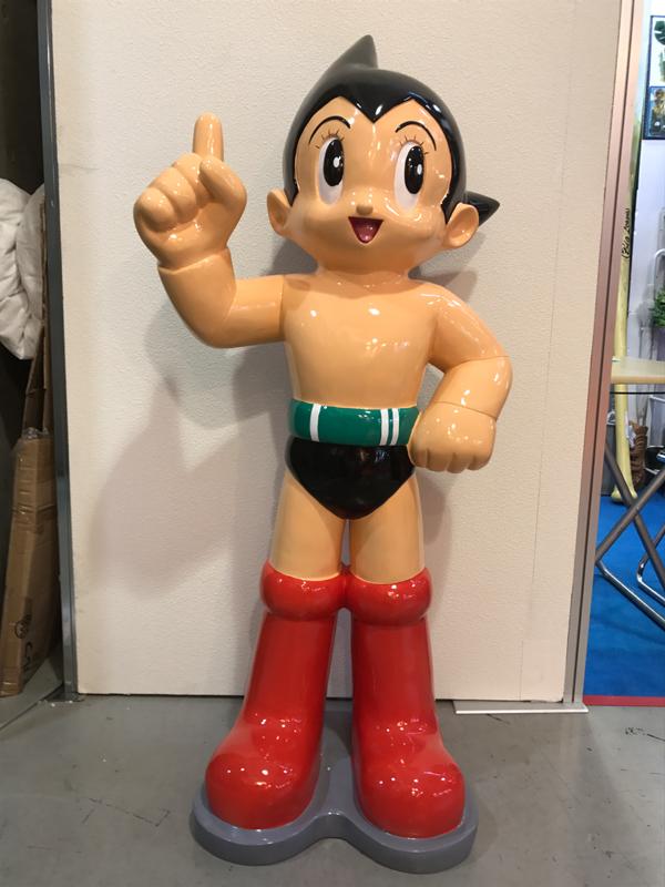 新発売 なつかしいテレビアニメ 鉄腕 アトム 高さ120cm「ハッピー」 ビッグ ロボット 等身大フィギュア