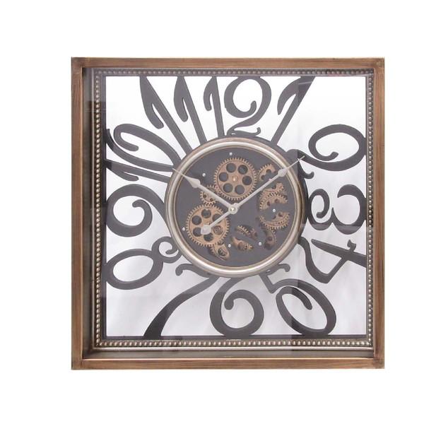 ギアー クロック(壁掛け時計) 「額縁 ギアー」 クロック 時計