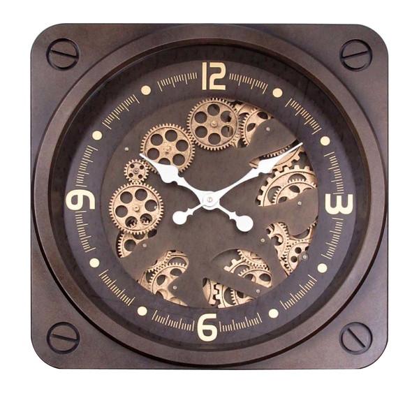 ギアー クロック(壁掛け時計) 「ゴールド ギアー」 クロック 時計