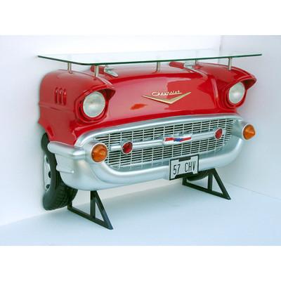 バーテーブル-Chevy-(赤)ライト点灯