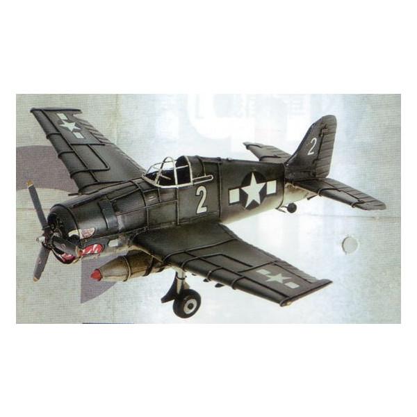 ブリキのおもちゃ グラマンF6F・ヘルキャット