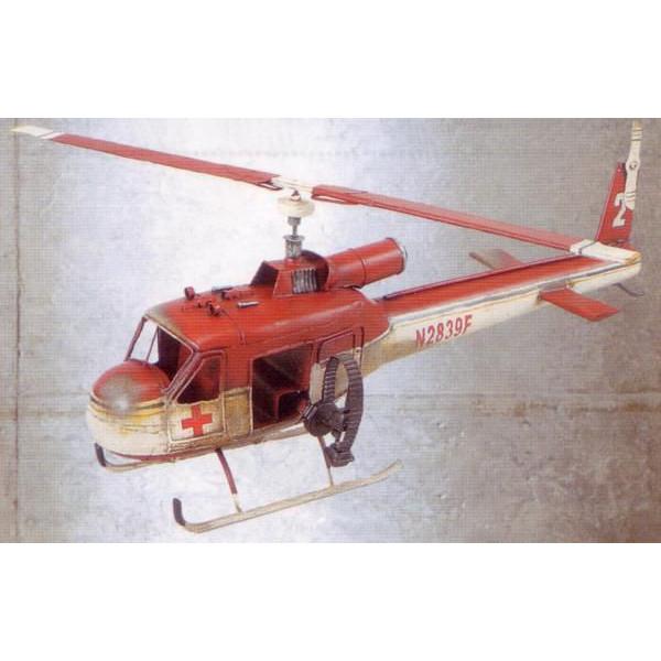 ブリキのおもちゃ レスキューヘリコプター