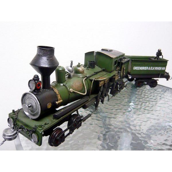 ブリキのおもちゃ 蒸気機関車(SL)2