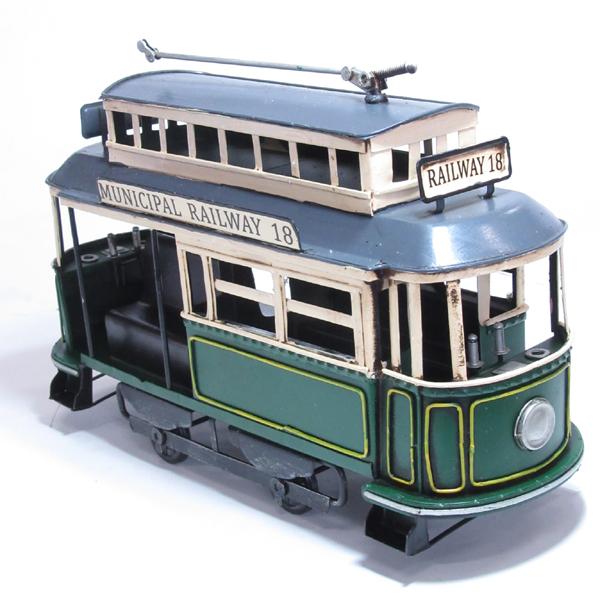 ブリキのおもちゃ トロリー電車B