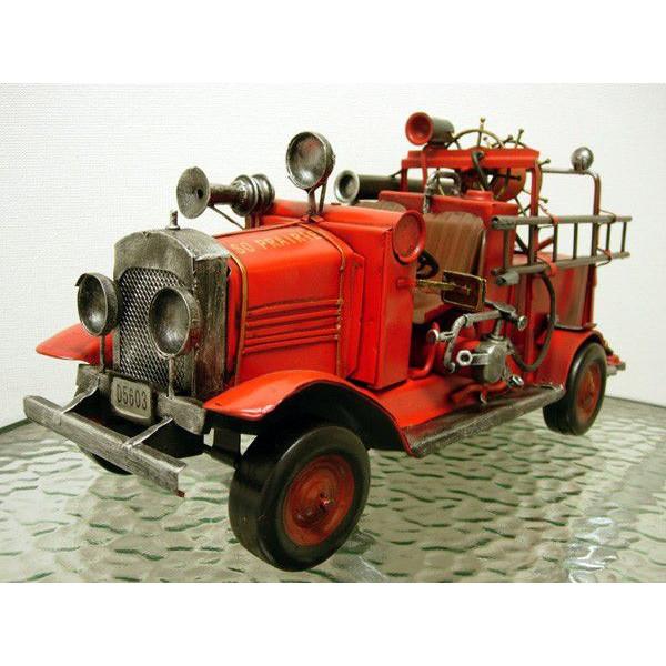ブリキのおもちゃ 消防車 A