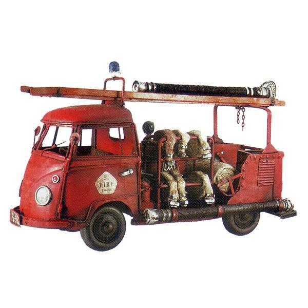 ブリキのおもちゃ 消防車 B