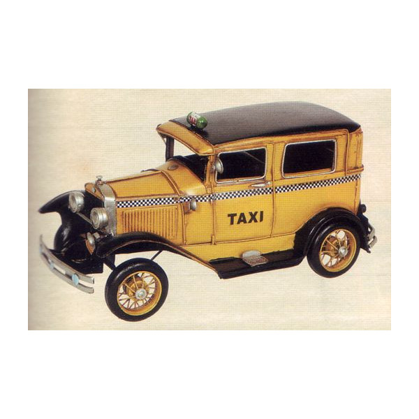 ブリキのおもちゃ レトロタクシー