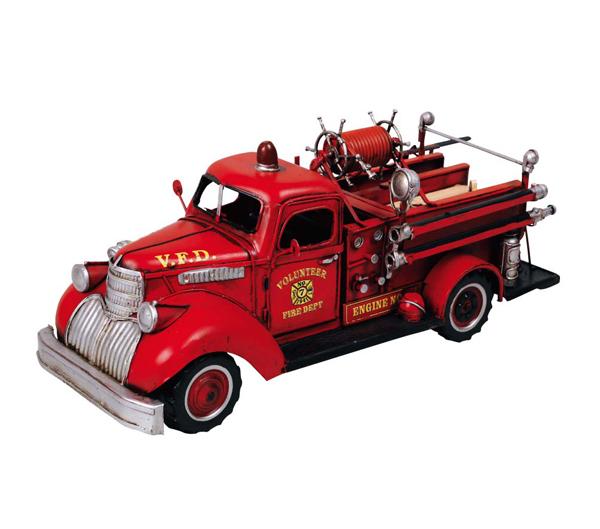 ブリキのおもちゃ 消防車 C