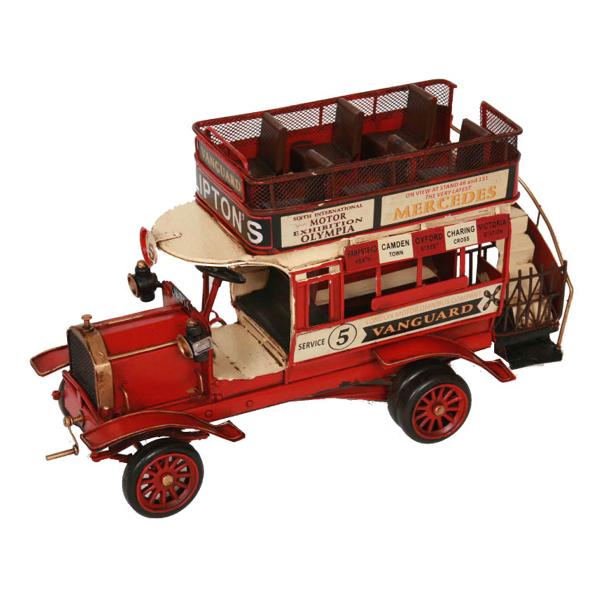 ブリキのおもちゃ クラッシクバス