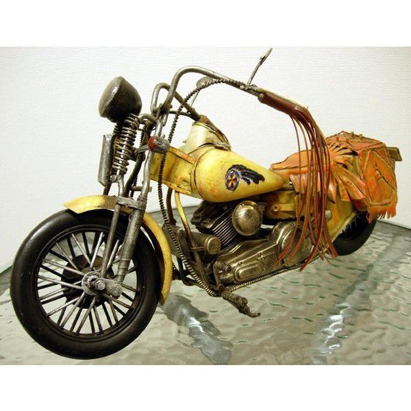 ブリキのおもちゃ レトロバイク・ウエスタン