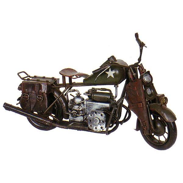 ブリキのおもちゃ レトロバイク・コンバット A