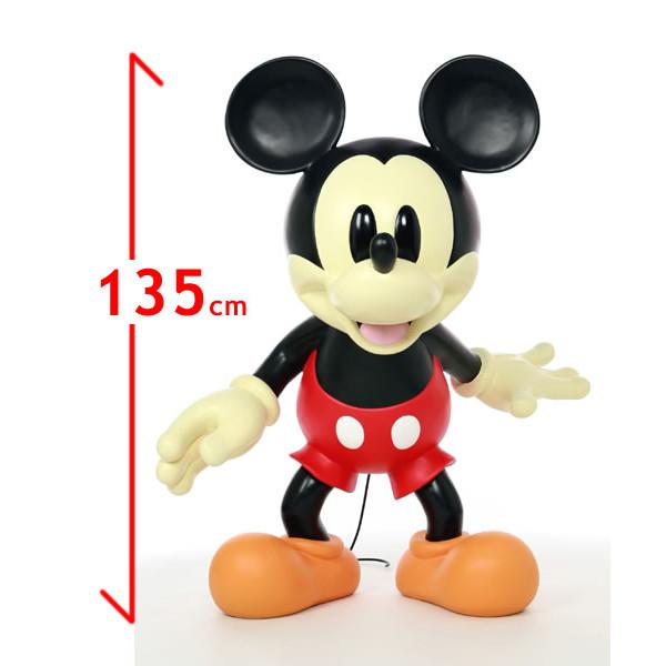 ミッキーマウス フィギュア 等身大フィギュア