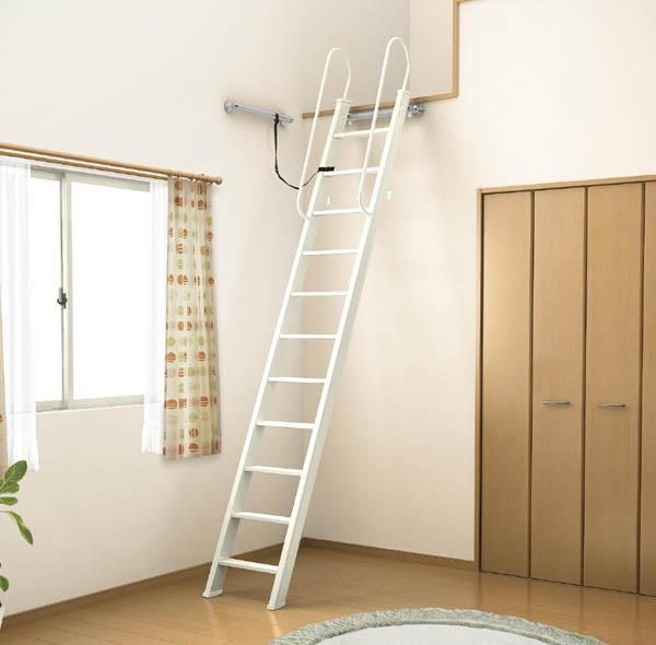 【エントリーでP10倍 12/31まで】ロフトはしご 8尺タイプ LIXIL/リクシル【ロフト】【梯子】【屋根裏】 ドリーム