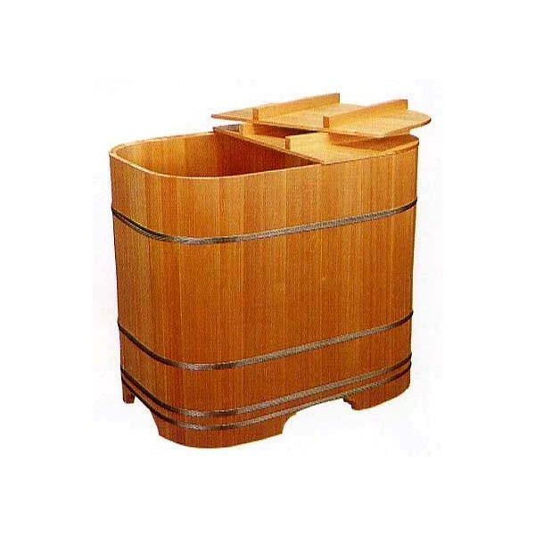 【エントリーでポイント10倍 4/30まで】木製浴槽 バスタブ 木曽の木 ゆとり 角丸式900型 高野槙 無節材【風呂】【浴室】【湯舟】【湯船】【水廻り】
