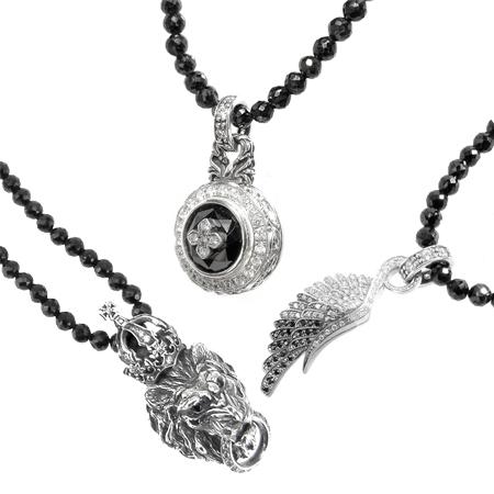 黑色尖晶石项链/Artemis Classic/阿耳特弥斯古典