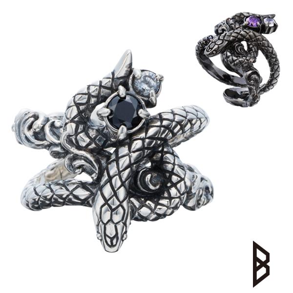 SERPENT Collection メーカー取り寄せ品 指輪Bizarre 情熱セール 品質検査済 ビザール サーペントリング