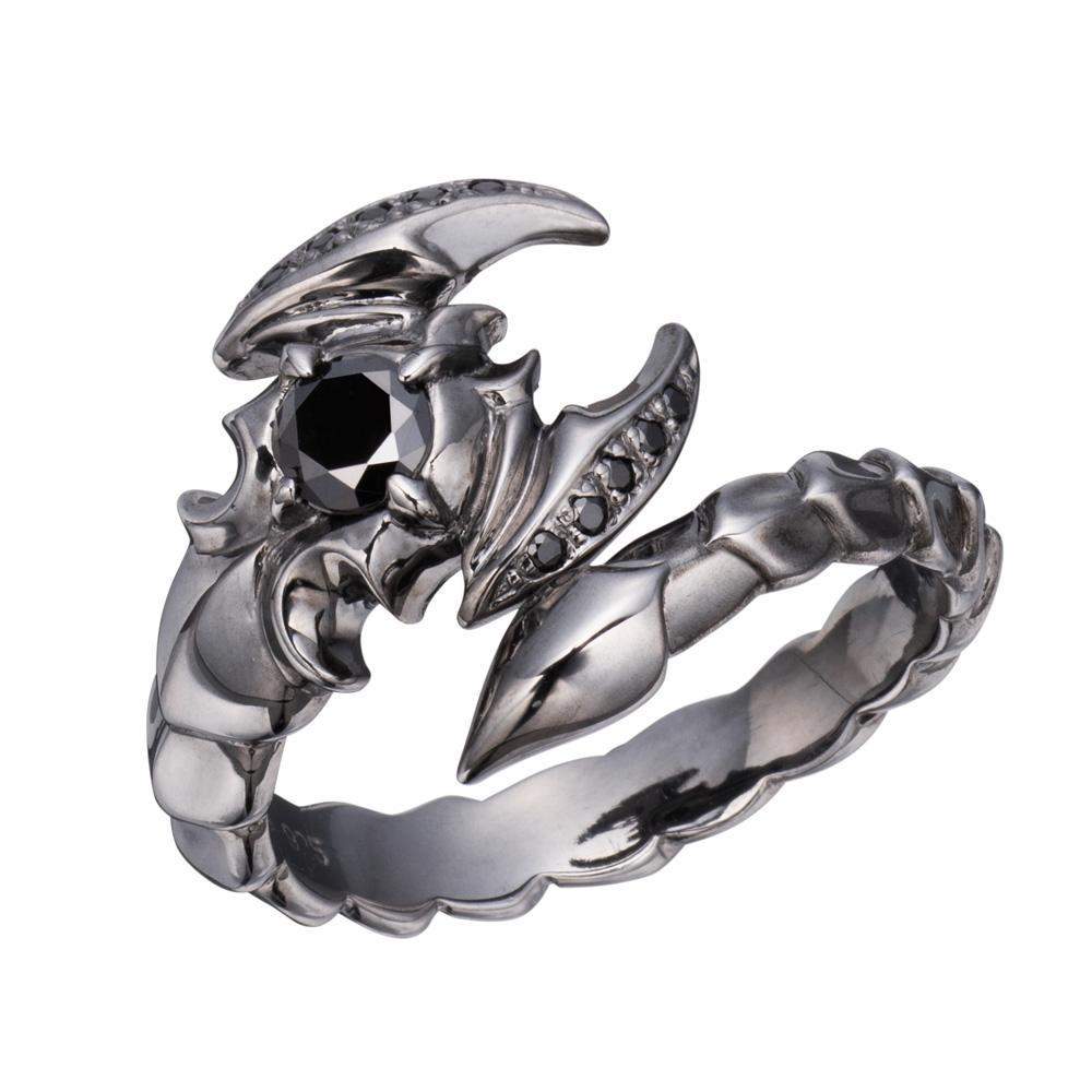 メーカー取り寄せ品 トワイライトアポリオンシルバーリング 指輪 Bizarre ビザール SRJ136BK