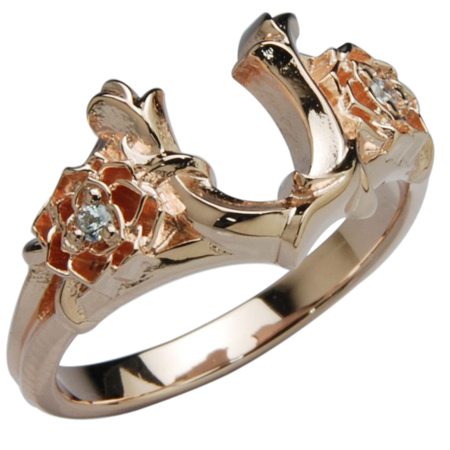 DEAL TEARS ディールティアーズ ローズホースシューリングPK レディース指輪 399238PK 【メーカー取り寄せ品】