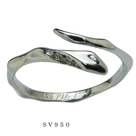 DEAL LTD ディールエルティーディー LINE SNAKE RING W/S 310184【メーカー取り寄せ品】