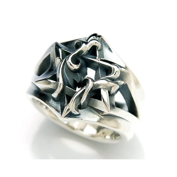 DEAL DESIGN ディールデザイン ヘックススターリング:WIDE メンズ 指輪 392295 【メーカー取り寄せ品】