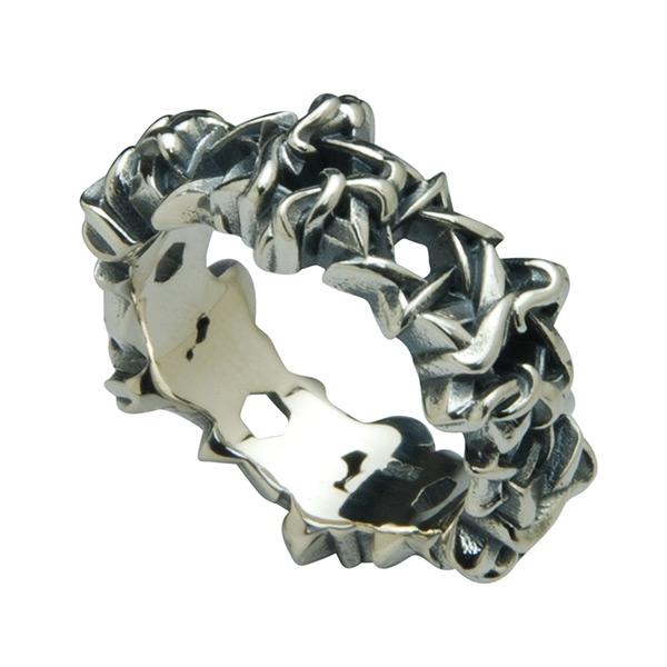 DEAL DESIGN ディールデザイン ヘックスグリッドリング メンズ 指輪 393203 【メーカー取り寄せ品】