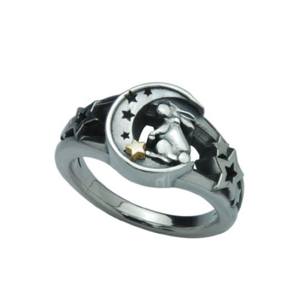 送料無料 DEAL TEARS ディールティアーズ ムーンラビットリング メーカー取り寄せ品 レディース指輪 399240 日本限定 価格 交渉 送料無料