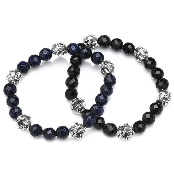 DEAL DESIGN ディールデザイン スターロックブレス メンズ 数珠ブレス 392703 【メーカー取り寄せ品】
